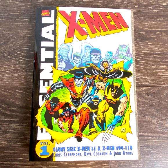 Essential X-Men Vol. 1 Marvel Comic Book